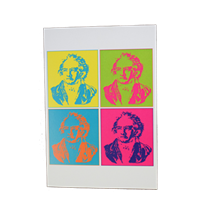 Greeting Card - Beethoven Multi Color