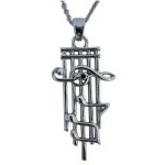 Music Staff Pendant Necklace