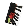 Piano and Rose Journal