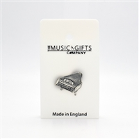 Piano Pewter Pin
