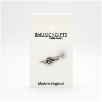 Trumpet Pewter Pin
