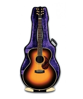 3D Greeting Card-Acoustic Guitar