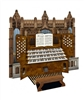 3D Greeting Card- Cathedral Wedding Organ