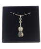 Violin Pewter Necklace