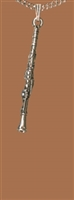 Clarinet Pewter Necklace