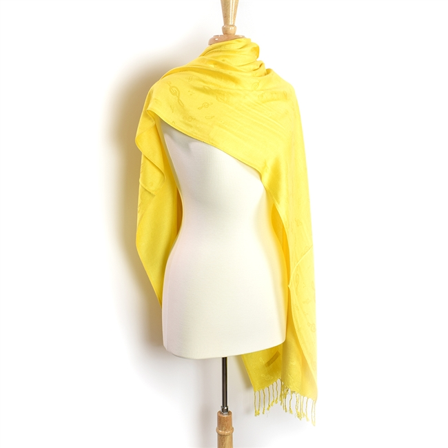 Pashmina Scarf-Lemon Yellow