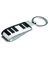 Keyboard Keychain In Leather