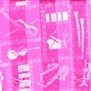 Fashion Scarf - Pink Instruments