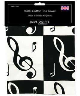 Tea Towel-Music Notes