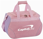 "B4021 - The 18.5"" Little Pink Duffel Bag"