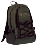 B7018 - The Washed Cotton Backpack