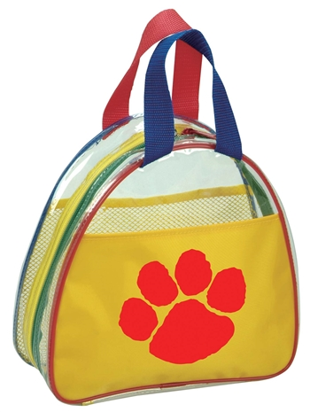 B8014 - Kids Half Moon Clear Tote Bag