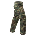 Men's Vintage Camo Paratrooper Fatique Pant