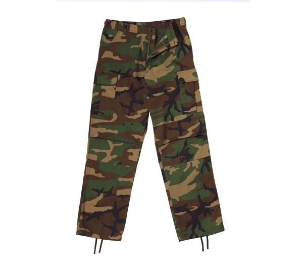 b003afd966e118 Men's Woodland Camo Ripstop BDU Pant