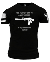 ENLISTED RANKS MAN'S HEART TEE