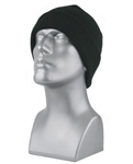 3M Thinsulate Lined Black Knit Hat