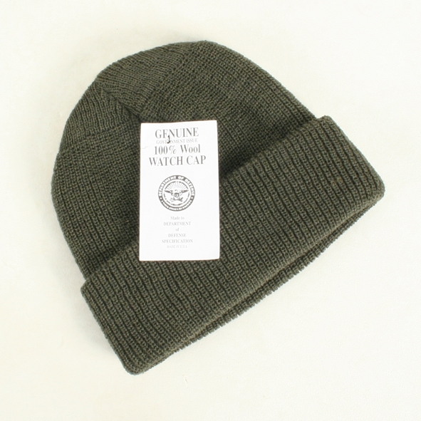 4452f904b89 Genuine Military Issue Wool Watch Cap