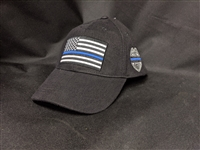 BLUE LINE CAP WITH BADGE