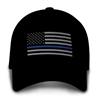 THIN BLUE LINE FLAG HAT