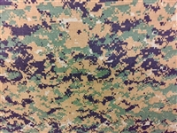 USMC Woodland Digital Camouflage Fabric