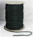 1000' ft SPOOL BLACK PARACORD