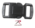 "1/2"" CONTOURED SIDE RELEASE BUCKLE"