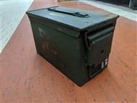 USED US GI .50 CAL AMMO CAN
