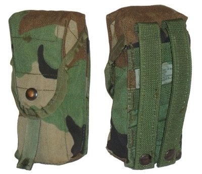 Used Woodland Double Mag Pouch