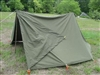 USED G.I. COMPLETE SHELTER HALF - PUP TENT