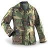 Used Woodland Camouflage BDU Top