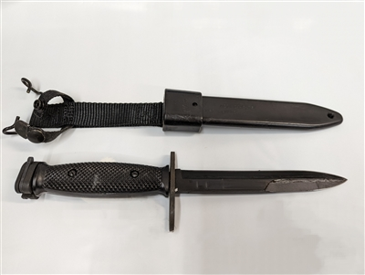 USED M7 BAYONET WITH SHEATH
