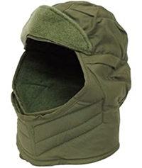Used GI OD Cold Weather Helmet Liner