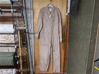 Used Tan Nomex Flight Suit