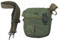GI 2 QUART CANTEEN/COVER SET - USED