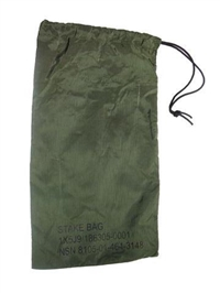 GI Nylon Tent Stake Bag