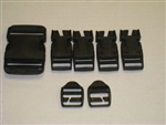 MOLLE II BUCKLE REPAIR KIT - BLACK