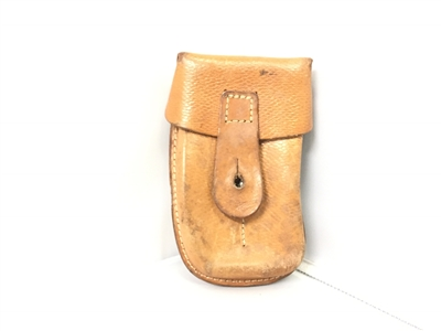 USED CZECH SCORPION LEATHER POUCH