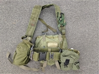 Used GI Pistol Belt Set w/ Fanny Pack
