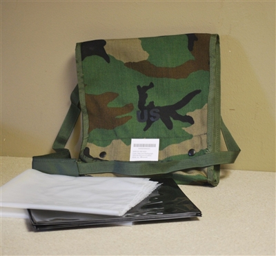 USGI Woodland Camouflage Map & Photograph Case