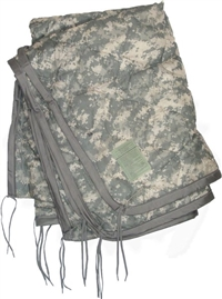 Military Issue ACU Poncho Liner - Used