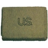 USED US ARMY WOOL BLANKET