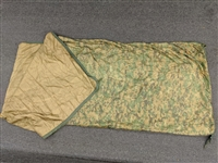 Used Marine Corps MARPAT (Woodland Digital) Poncho Liner w/Zipper