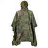 Angolan Army Woodland Camouflage Poncho