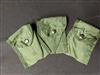 Military Issue LC-1 First Aid / Compass Pouch-3 Pack