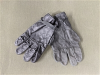 USED GI D3A LEATHER GLOVES
