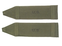 USGI WWII Canvas Shoulder Strap Pad Set