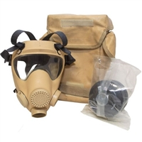 Nato/French Desert AFR Gas Mask Kit