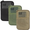 MA16 MOLLE POCKET POUCH W/FLAG PATCH