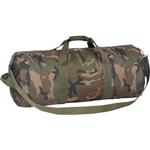 "30"" Woodland Camo Roll Bag"