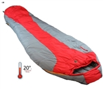 FEATHERLITE 20 DEGREE SLEEPING BAG